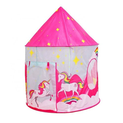 TENT FOLDABLE POP UP WITH UNICORN DESIGN FOR KIDS
