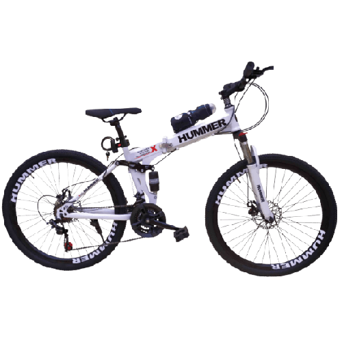 HUMMER MOUNTAIN BICYCLE FOLDABLE SIZE 24