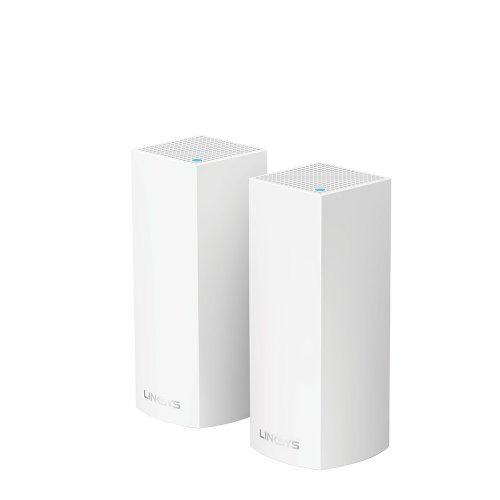 WHOLE HOME INTELLIGENT MESH WIFI SYSTEM VELOP TRI-BAND 2-PACK LINKSYS