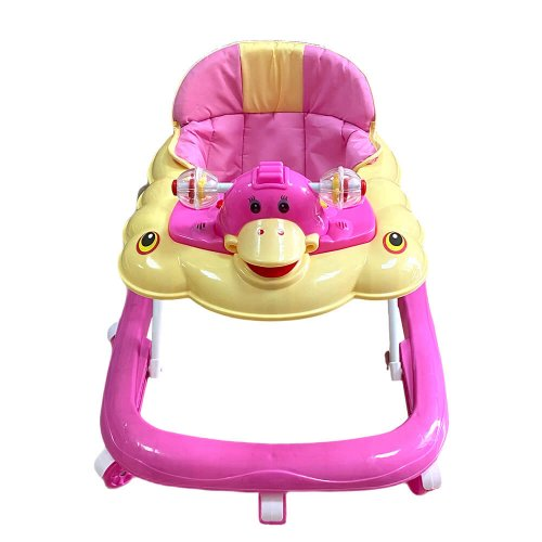 BABY WALKER PINK WITH TOYS