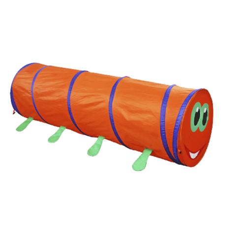 TUNNEL TENT FOR KIDS CATERPILLAR DESIGN