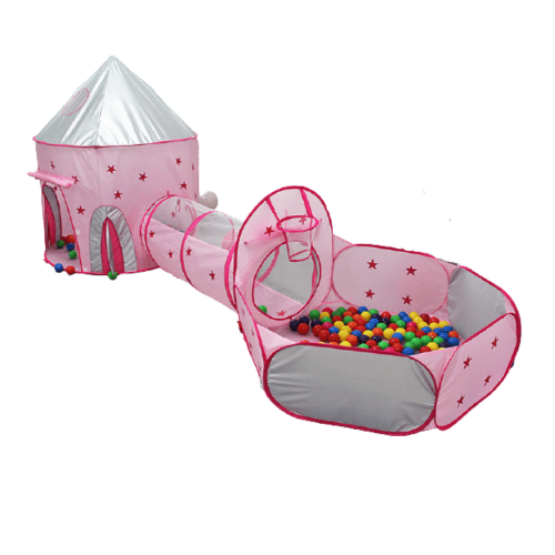 PLAY TENT CRAWL TUNNEL KIDS PLAYHOUSE