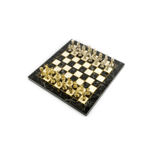 CHESS AND BACKGAMMON WOODEN TABLE