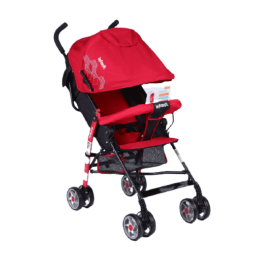 STROLLER FOR BABY RED