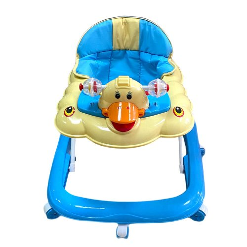 BABY WALKER WITH TOYS BLUE