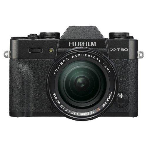 FUJIFILM  X-T30 MIRRORLESS DIGITAL CAMERA BLACK BODY + XF18-55MM