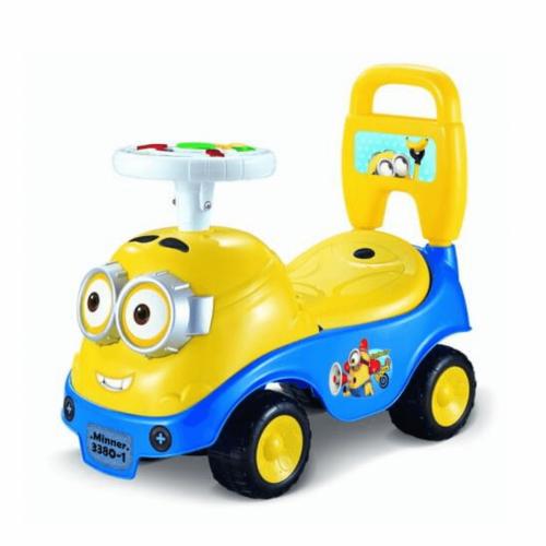 KIDS PUSH CAR MINION RIDE WITH MUSIC