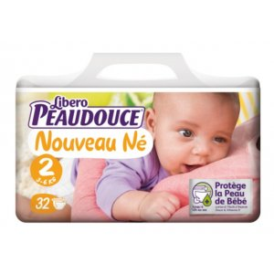 PEAUDOUCE- DIAPERS COMFORT SIZE 2