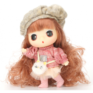 DDUNG Doll Toy Long Hair with Accessories
