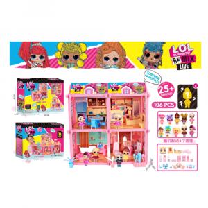 DIY KIDS LOL PLAY HOUSE FOR GIRLS 106 PCS
