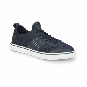 MEN SHOES WITH NAVY BLUE LINE SHANK NAVY BLUE
