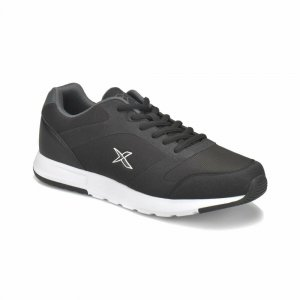 MEN SHOES WITH WHITE MID SOLE BLACK
