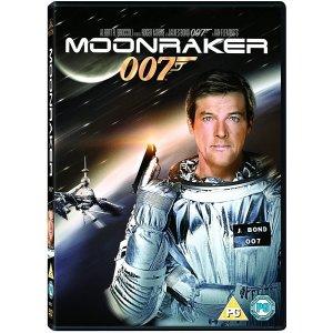JAMES BOND MOONRAKER 1979 DVD