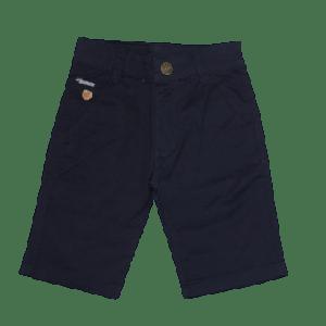 BOY SHORT WITH BROWN STITCH NAVY BLUE