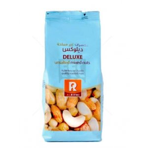 AL RIFAI MIXED NUTS DELUXE UNSALTED 200GM