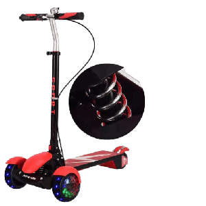 SCOOTER FOR KIDS WITH CENTER SHOCK