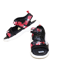 BABY BOY SANDAL PIXEL WITH TWO STRAP RED