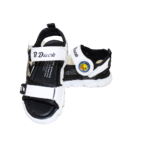 BABY BOY SANDAL WITH STRAP B. DUCK WHITE