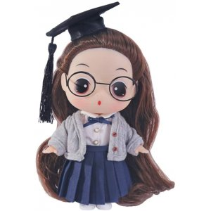 DDUNG Doll Toy Height Teacher Doll Fashion Doll with Accessories