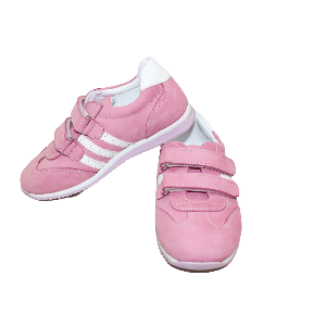 GIRL SHOES WITH TWO STRAPS PINK