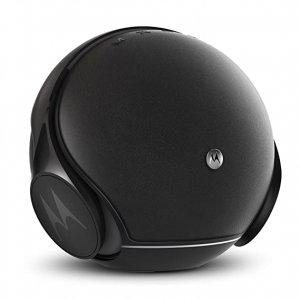 MOTOROLA SPHERE SINGLE BLACK METALLIC BLUETOOTH SPEAKER WITH HEADSET