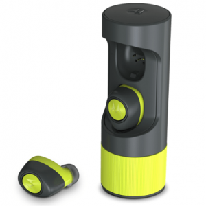 MOTOROLA VERVEONES MUSIC EDITION HEADPHONES GREY/LIME