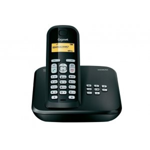GIGASET CORDLESS TELEPHONE  A510 AM BLACK
