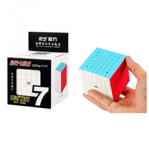 QIYI 7X7 STCKERLESS CUBE 3D PUZZLE