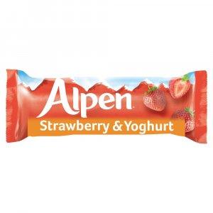 ALPEN BARS STRAWBERRY W/YOGHURT 29GM