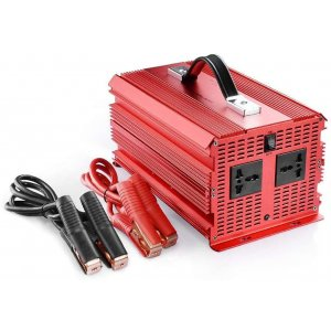 BESTEK 2000W POWER INVERTER WITH 2 AC OUTLETS