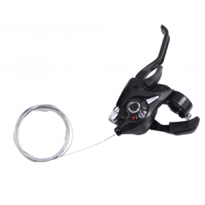 BICYCLE BRAKE LEVERS GEAR SHIFTER WITH GEAR INDICATOR