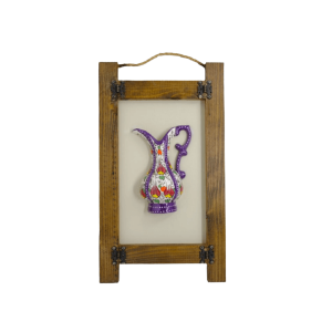 WOODEN FRAME WITH CERAMIC