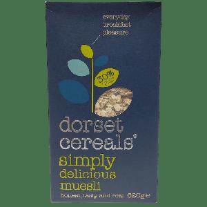 DORSET CEREALS SIMPLY DELICIOUS MUESLI  620GM