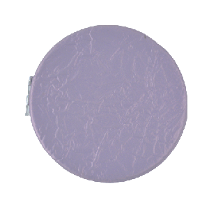LEATHER POCKET MIRROR LILAC COLOR