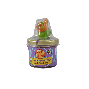 BLUEBERRIES HONEY SOUFFLE (WITH TOY) 125G