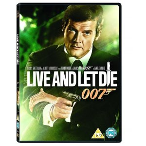 JAMES BOND LIVE AND LET DIE 1973 DVD