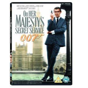 JAMES BOND ON HER MAJESTY`S SECRET SERVICE DVD