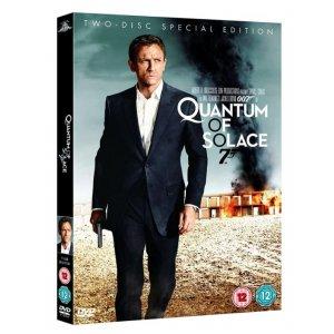 JAMES BOND QUANTUM OF SOLACE 2008 DVD