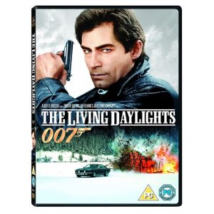 JAMES BOND THE LIVING DAYLIGHTS 1987 DVD