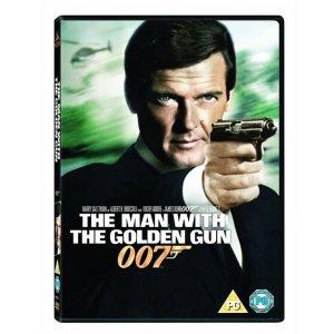JAMES BOND THE MAN WITH THE GOLDEN GUN 1974 DVD