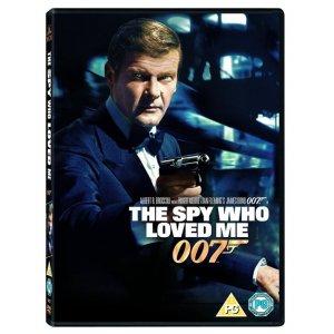 JAMES BOND THE SPY WHO LOVED ME 1977 DVD