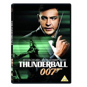 JAMES BOND THUNDERBALL 1965 DVD