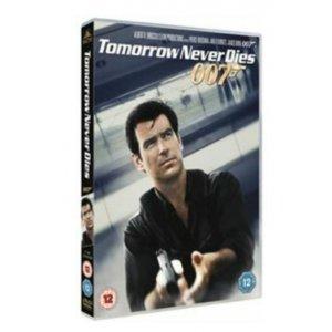 JAMES BOND TOMORROW NEVER DIES 1997 DVD