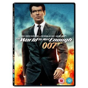 JAMES BOND THE WORLD IS NOT ENOUGH 1999 DVD