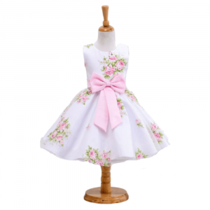 PARTY DRESS FLORAL FOR GIRLS 2-5Y/O