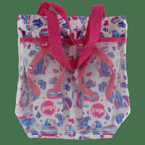 GIRLS BEACHWEAR COMBO SLIPPERS & BAG