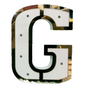 DECORATIVE LIGHT LETTER MODEL 5 - G