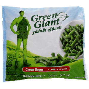 GREEN GIANT GREEN BEANS ROUND 900GM