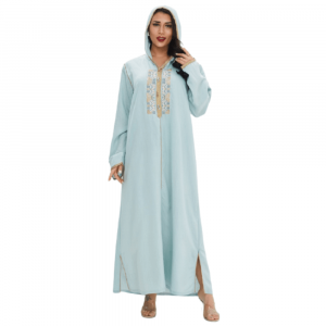 MIDDLE EASTERN LONG SKIRT ROBE WITH HOOD