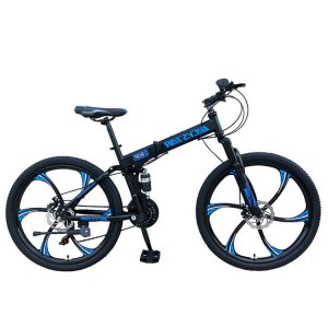 BICYCLE FOLDING MOUNTAIN 26 INCH BLUE